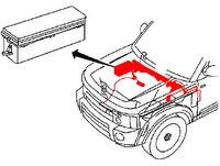 2005 2007 lr3 engine fuse box and wire assembly 4 0l v6. Black Bedroom Furniture Sets. Home Design Ideas