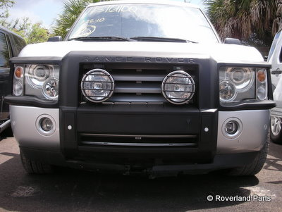 2003 2005 Range Rover Brush Guard 4 0 Se Amp 4 6 Hse Front
