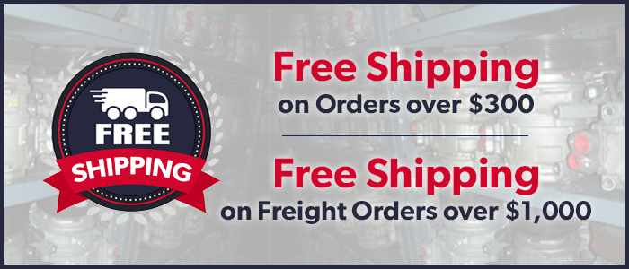 Get Free shipping when you order $300 of products!