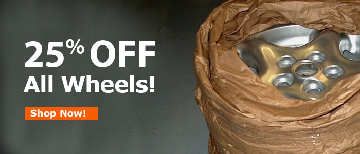 25% Off ALL Wheels!