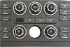 Range Rover Temperature Control Panels