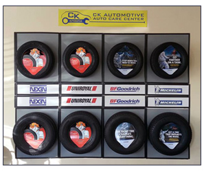 CK Automotive tire selection